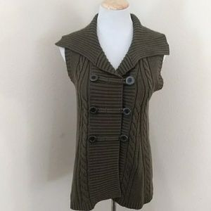Style & Co Cable Knit Sweater Vest